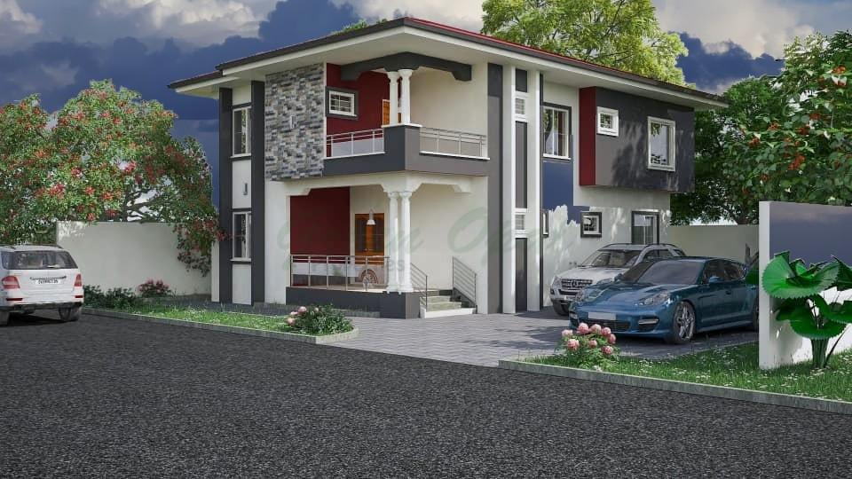 Green Opal Ghana 4 bedroom house