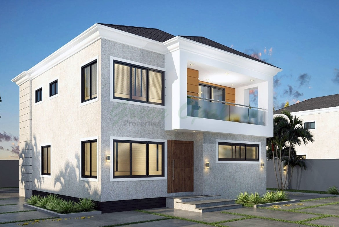 Green Opal Ghana 3 bedroom house