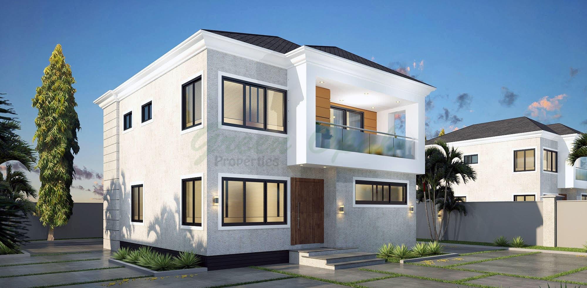Green Opal Ghana 3 bedroom house